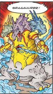 Unidragon Hypnor, Lady Saurya et dragon anonyme