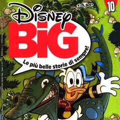 Couverture de la revue italienne <i>Disney Big</i> n<sup class=