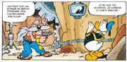 Le comte Arbourh fait de Donald son prisonnier