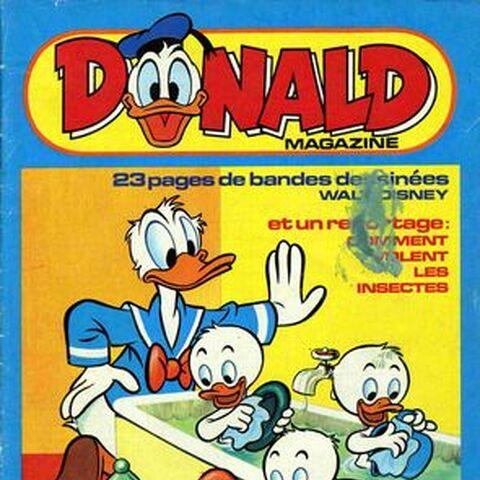 Couverture du <i>Donald Magazine</i> n°82-01