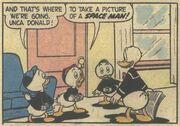 Donald et la soucoupe volante! - extrait 1