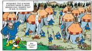 Gengis Khan présente ses conquêtes à Donald