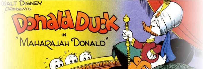 Maharajah Donald bandeau