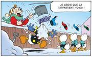 Lagrogne rend la neige de Donald à sa manière