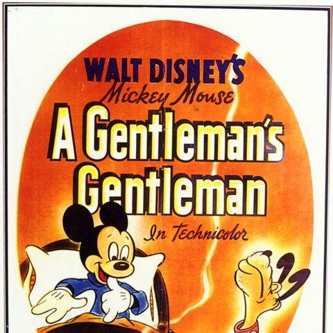 Affiche de <i>A Gentleman's Gentleman</i>.