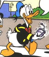 Voiture 313 Donald Duck avec le veeblefetzer