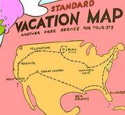 Carte des États-Unis 2