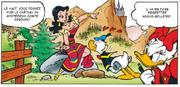 Esmeralda présente le château du comte Arbourh mais Donald n'a d'yeux que pour la guide