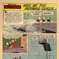 La première planche de l'histoire dans le <i>Uncle $crooge</i> n°68 de mars 1967.