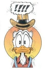 Joseph Duck par Don Rosa