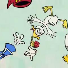 Donald se fait éjecter du snak par Dingo...