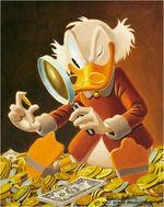 Balthazar Picsou Peinture Carl Barks