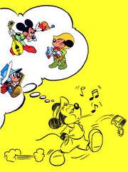 Hr-Mickey à travers les siècles