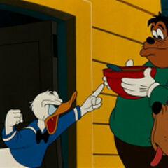 Donald avec Pat Hibulaire et <a href=