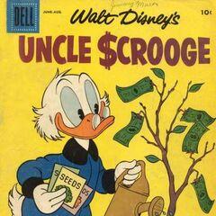 Couverture de <i>Uncle $crooge</i> n°18.