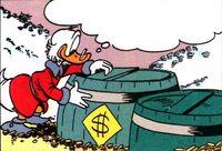 Donald et le tic numismatique planche 7 case 3