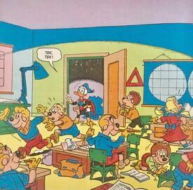 Fantomiald entre en classe!