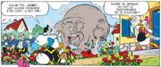Jumbo saccage le jardin de Daisy