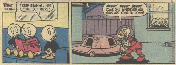 Donald et la soucoupe volante! - extrait 8