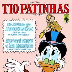 Illustration de Napoleão Figueiredo pour le magazine brésilien <i>Tio Patinhas</i> n°190.