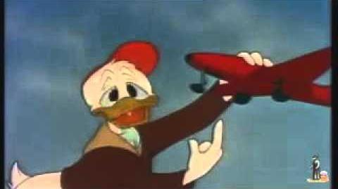 Donald pilote d'essai