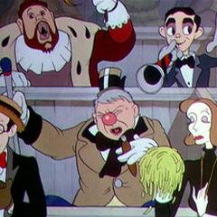 Charles Laughton, Eddie Cantor, Harold Lloyd, W. C. Fields et Greta Garbo.