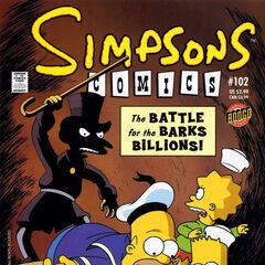 Couverture de Simpsons Comics 102