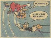 Donald roi du trapèze! - extrait 5