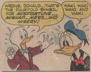 Un talisman pour Donald! - extrait 3
