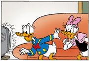 Donald et Daisy par Wilma van den Bosch