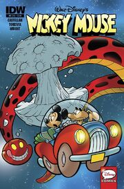 Mickey Mouse - 6 IDW Cover