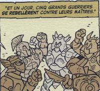 Gameras, Gurbos, Gidéon, Gothor et Gertus