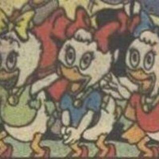 Lili, Lulu et Zizi dessinées par <a href=