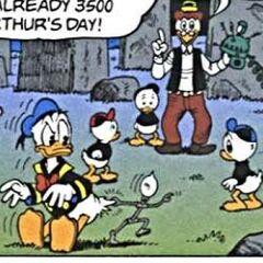 Filament tirant Donald
