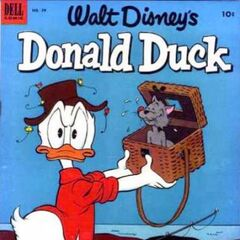 Couverture de <i>Donald Duck</i> n°29.