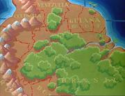 Venezuela-guyane-colombie