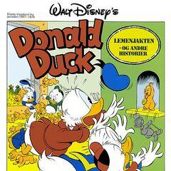 Illustration de Tello Art pour le magazine norvégien <i>Beste historier om Donald Duck & Co</i> n°38.