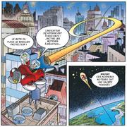 Fantomiald et Géo Trouvetou quittent la Terre