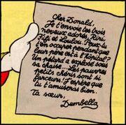 Lettre de Della Duck 2