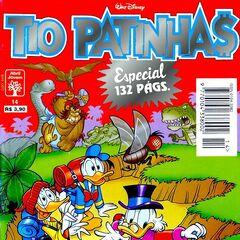 Couverture de la revue brésilienne <i>Tio Patinhas Espacial</i> n<sup class=