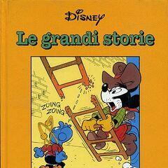 Couverture illustrant l'histoire utilisée pour la première fois dans <i>Le grandi storie di Romano Scarpa 1960/61</i> du 7 mars 1994.