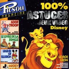 Premier hors-série de <i>Picsou Magazine</i> (titré <i>100% astuces Jeux vidéo Disney</i>) datant de juillet 1995.