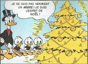 Donald et Riri, Fifi et Loulou Un sapin de Noël en or