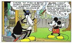 Mickey Mouse avec Horace Horsecollar
