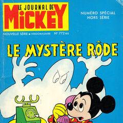 Quatrième numéro du <i>Mickey Parade</i> bis paru le 12 mars 1967, qui porte le numéro 772.