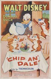 Donald chez les écureuils