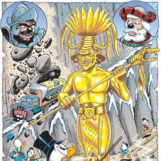 Illustration de Don Rosa pour son histoire.