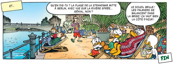 Le baron de Duckhausen - Fin