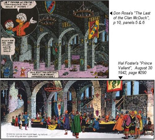 Inspiration de Don Rosa 4 Le Dernier du clan McPicsou