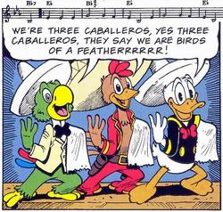 Trois Caballeros (groupe d'amis)